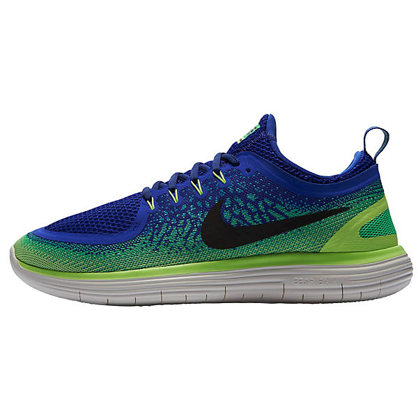 600 Free Nike 2 Blau Rn Distance grün 863775 Laufschuhe 5Lq4j3RA