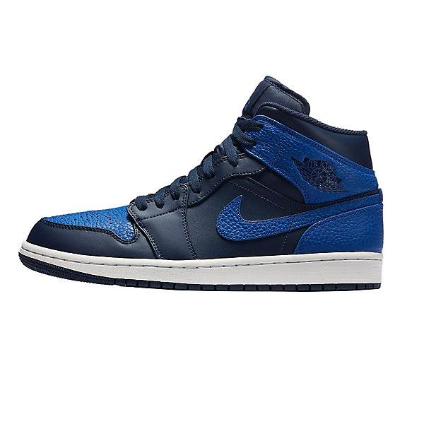 blau kombi High 110 Nike 1 JORDAN AIR MID 554724 NIKE Sneakers wz8YCxvv