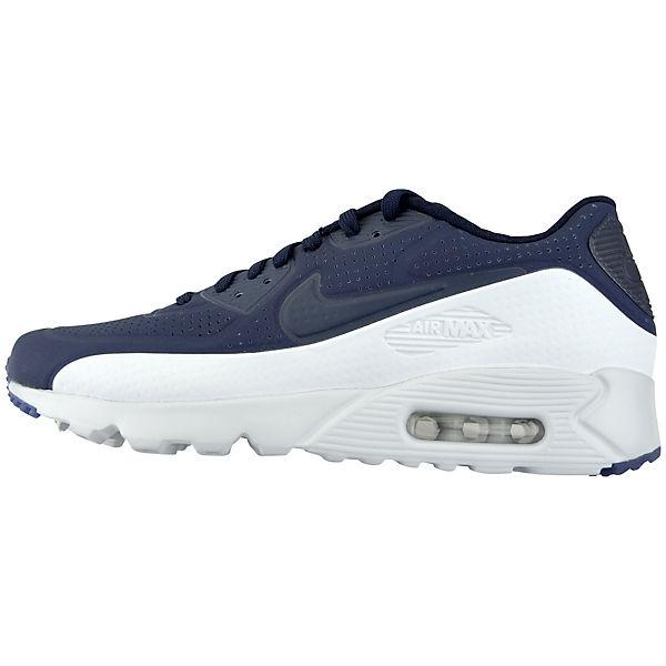 NIKE, NIKE AIR MAX 90 ULTRA MOIRE  819477-404 Sneakers Low, blau/weiß  MOIRE Gute Qualität beliebte Schuhe 317369