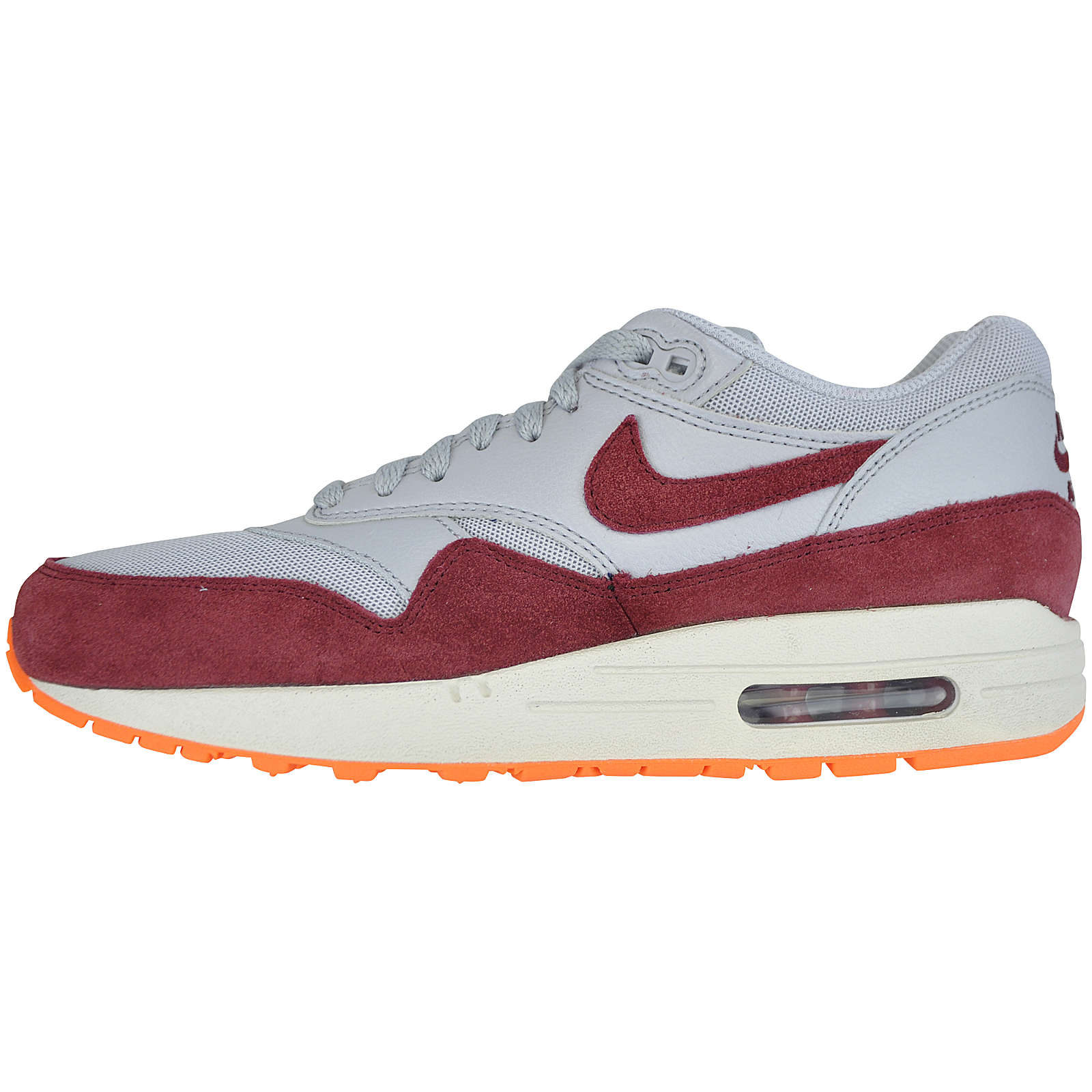 WMNS Nike Air Max 1 Essential 599820-015 Sneakers Low rot/weiß Damen Gr. 37,5