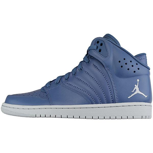 1 NIKE Nike 005 Sneakers FLIGHT High JORDAN blau 820135 4 np4wrnUx