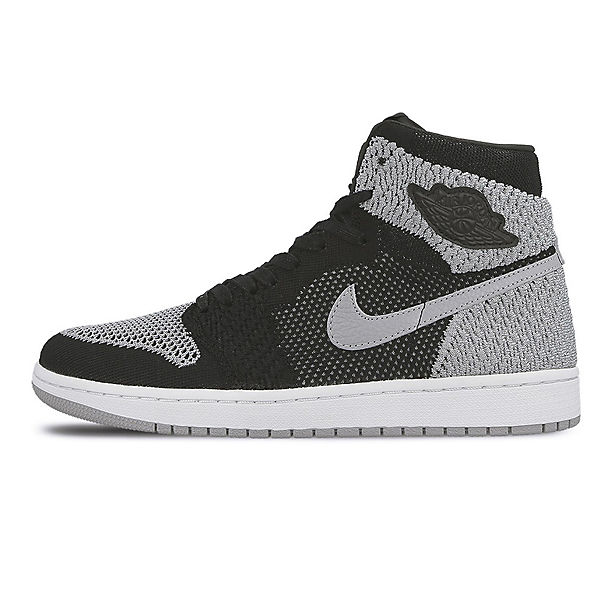 919704 HI grau Nike High JORDAN Sneakers schwarz RETRO 1 FLYKNIT 003 AIR NIKE Xqa70q