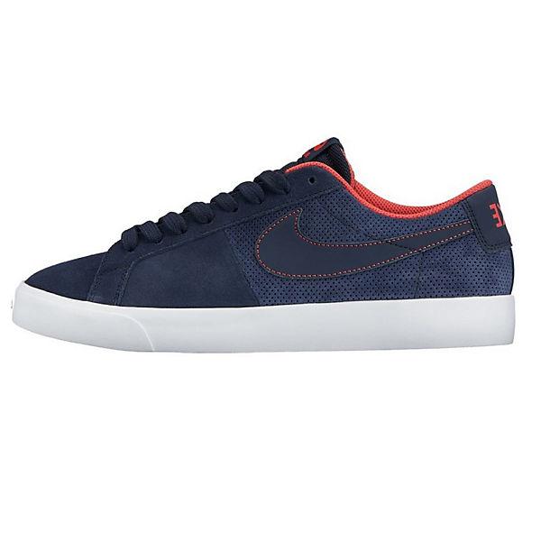 NIKE, NIKE Sneakers SB BLAZER VAPOR 878365-441 Sneakers NIKE Low, blau   699418