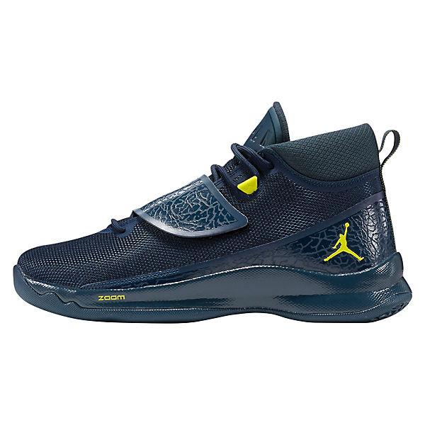NIKE, NIKE JORDAN SUPER.FLY 5 PO 881571-601 Sneakers High, blau