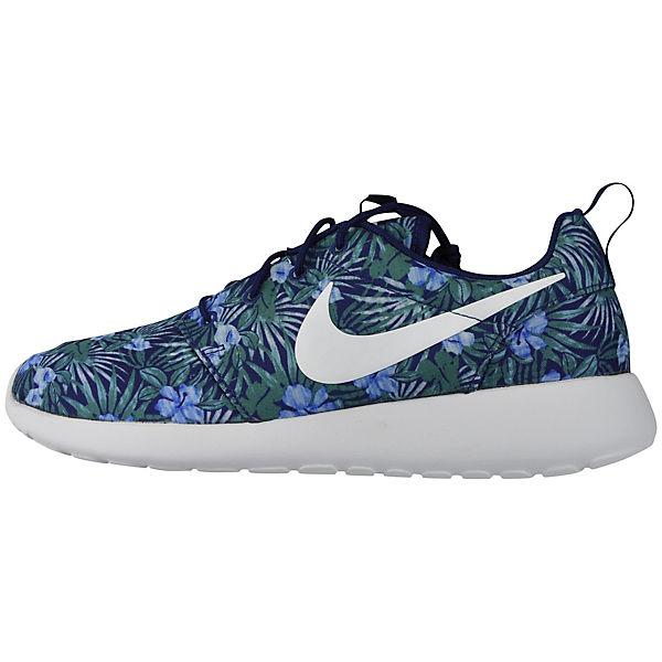 Low weiß NIKE blau PRINT 833620 Sneakers PREM ROSHE NIKE 410 ONE 8qAAf