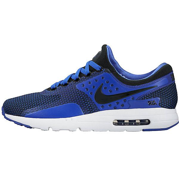 NIKE, NIKE 876070-001 AIR MAX ZERO ESSENTIAL 876070-001 NIKE Sneakers Low, blau  Gute Qualität beliebte Schuhe bdb5f2