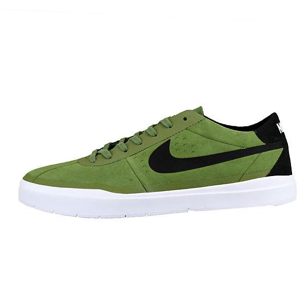 NIKE, NIKE BRUIN SB HYPERFEEL 831756-001 Turnschuhes Niedrig, schwarz/grün Gute Qualität beliebte Schuhe