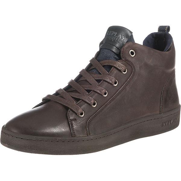 cheap for discount c6b95 51ca2 REPLAY, Exodus Sneakers High, braun