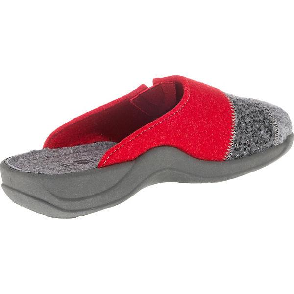 grau Vaasa D ROHDE Pantoffeln ROHDE Vaasa D grau Pantoffeln ROHDE qZw06dAnE
