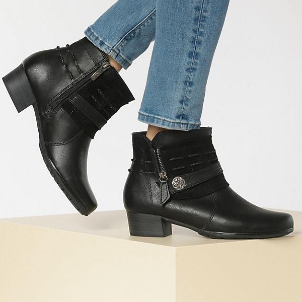 Relife, Klassische Stiefeletten, schwarz Gute Qualität beliebte Schuhe