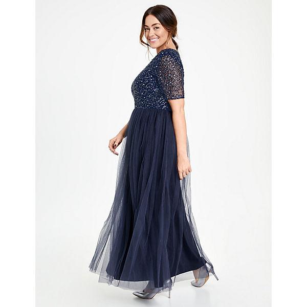 Abendkleid blau blau Samoon blau Samoon Abendkleid Abendkleid Samoon rPPgwx