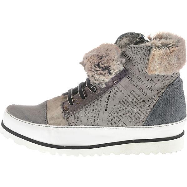 Charme Klassische Stiefeletten grau-kombi  Gute Gute Gute Qualität beliebte Schuhe f76aa5
