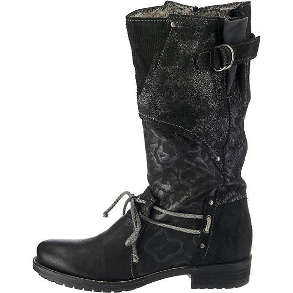 Charme Charme Stiefel Klassische schwarz kombi kombi Charme Stiefel Klassische schwarz schwarz kombi Klassische Stiefel qTggxnzE