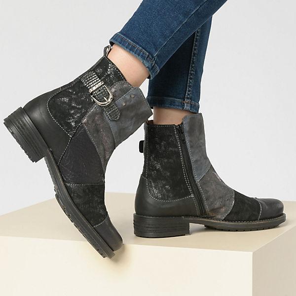 Charme, Klassische Stiefeletten, schwarz-kombi  Gute Qualität Qualität Qualität beliebte Schuhe 6baa25