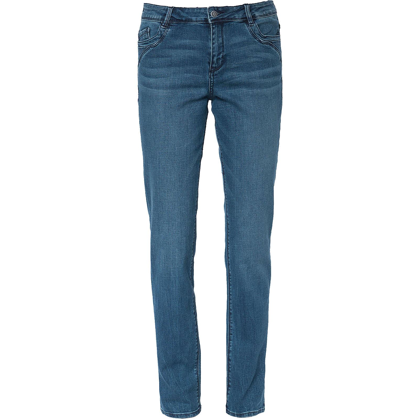 s.Oliver Jeans Straight blau Damen Gr. 34/L32