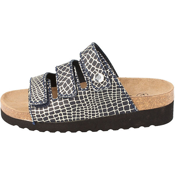 BOnova, Komfort-Pantoletten, schwarz-kombi     e32558