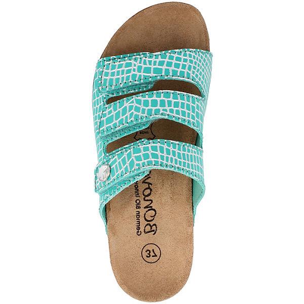 BOnova grün BOnova Pantoletten Komfort Komfort rwrgST