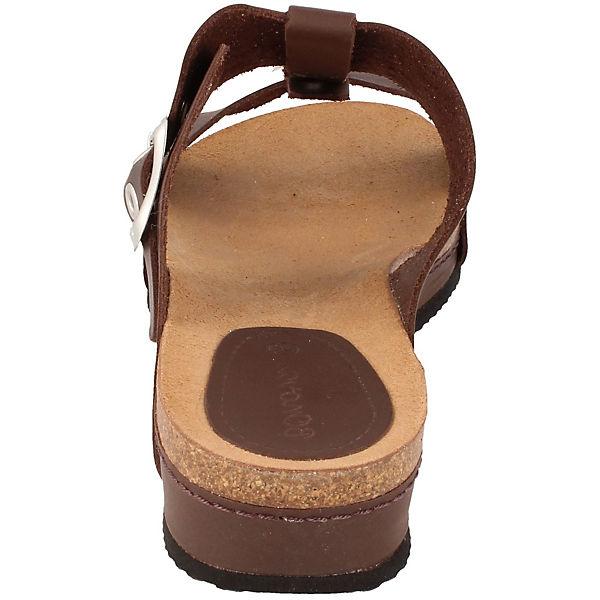 BOnova, Nizza Plateau-Pantoletten, braun  Schuhe Gute Qualität beliebte Schuhe  063fd4