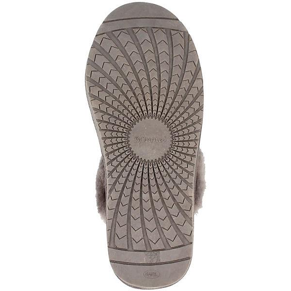 BOnova BOnova Pantoffeln Pantoffeln grau S7Bnx6