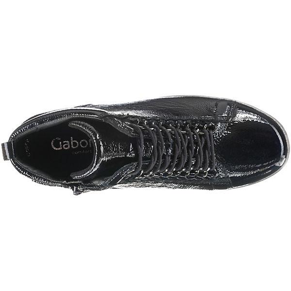 Gabor, Gute Sneakers High, blau  Gute Gabor, Qualität beliebte Schuhe 6fe439