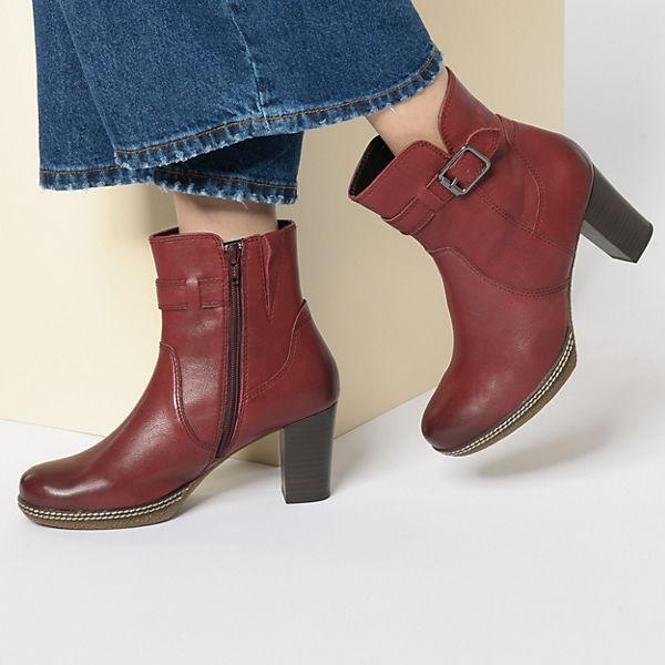Gabor, Klassische Stiefeletten, rot  Gute Qualität beliebte Schuhe