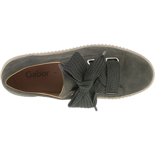 grau Gabor Sneakers Low Sneakers Low grau Gabor q6nYH7gPxw