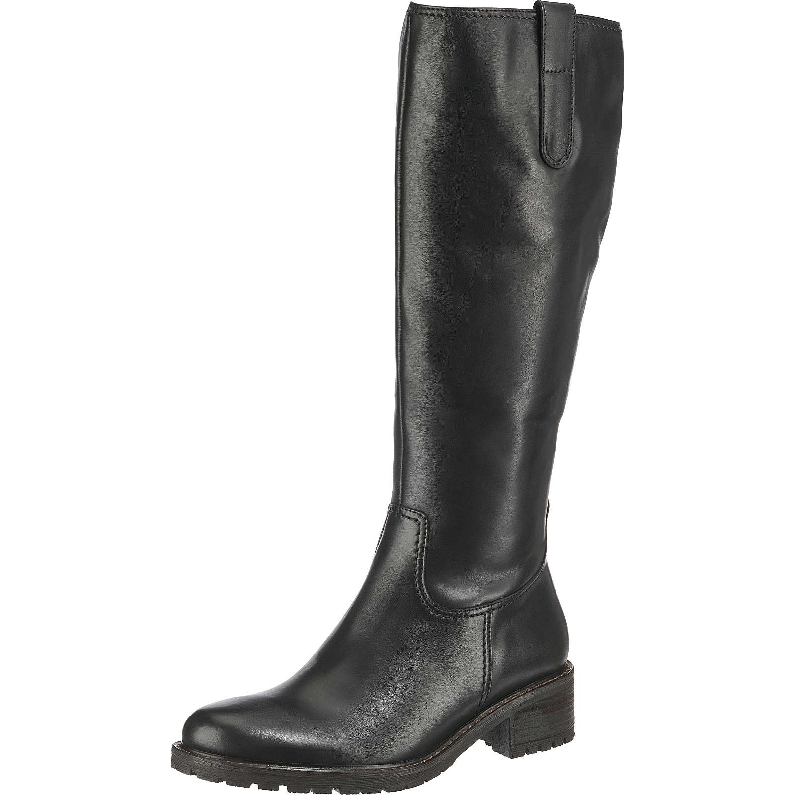 Gabor Klassische Stiefel schwarz Damen Gr. 43