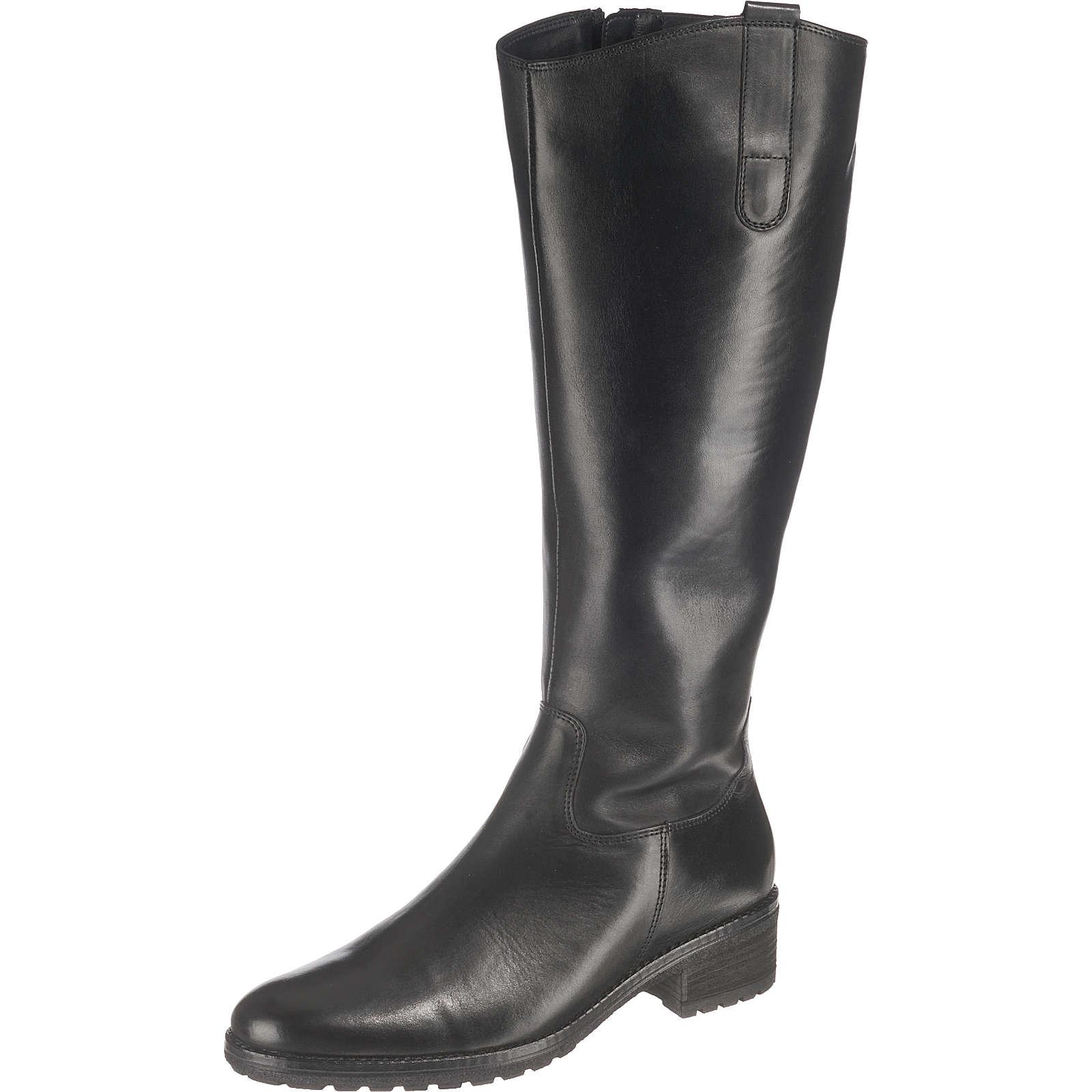 Gabor Klassische Stiefel schwarz Damen Gr. 38