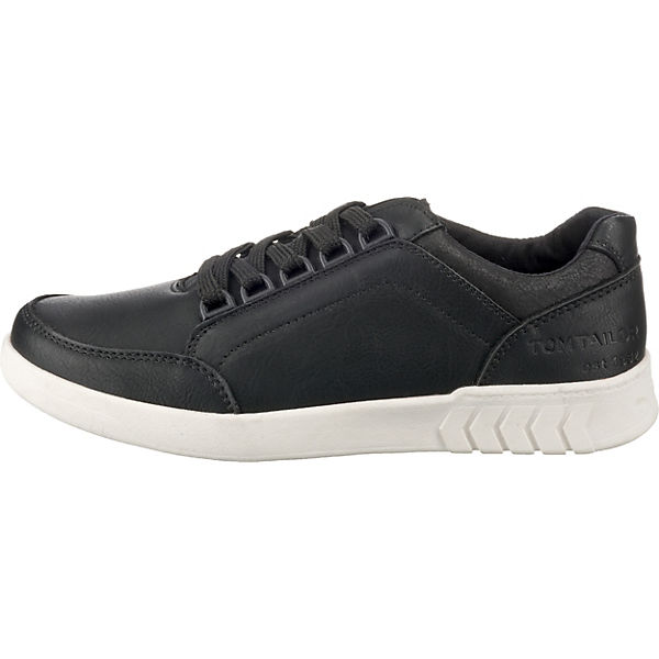 TOM TAILOR, Sneakers Low,  schwarz  Low,  963ab3
