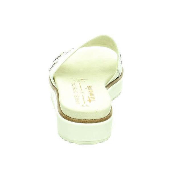 Tamaris,  Pantoletten, weiß  Tamaris, Gute Qualität beliebte Schuhe 48ea44