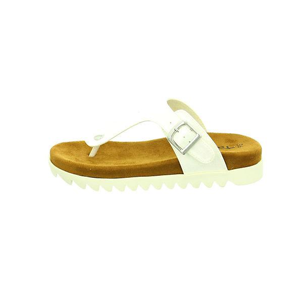 Tamaris, Zehentrenner, weiß  Gute Schuhe Qualität beliebte Schuhe Gute aaa5a4