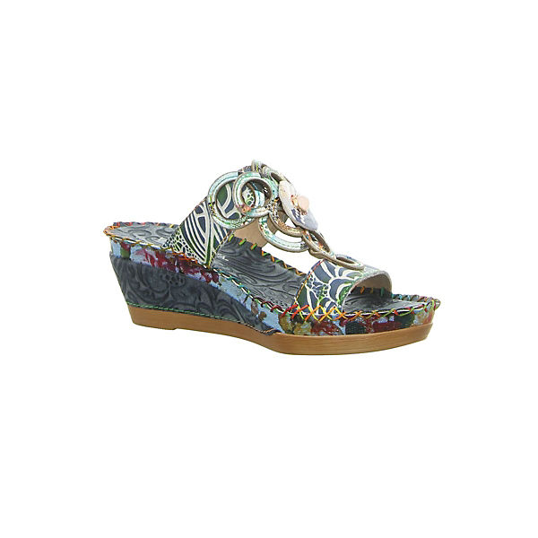 Laura Vita, Gute Pantoletten, blau  Gute Vita, Qualität beliebte Schuhe e3ac27