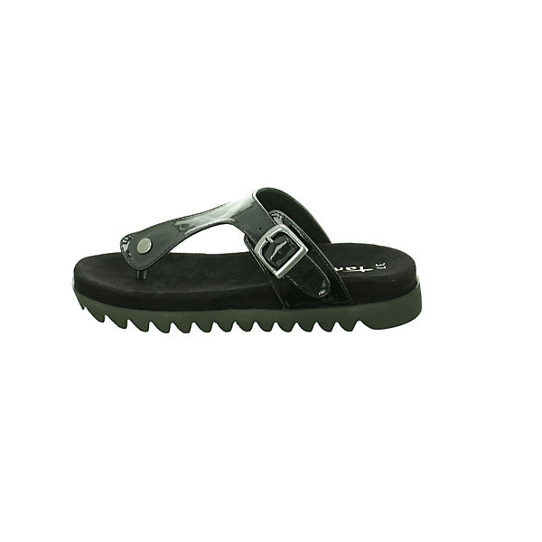 Tamaris Zehentrenner schwarz  Gute Qualität beliebte Schuhe