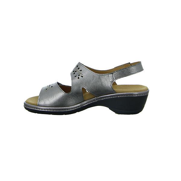 Longo, Komfort-Sandalen, silber  Gute Schuhe Qualität beliebte Schuhe Gute 400ae5