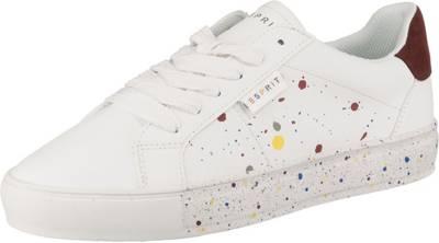 ESPRIT, Colette Sneakers Low, weiß