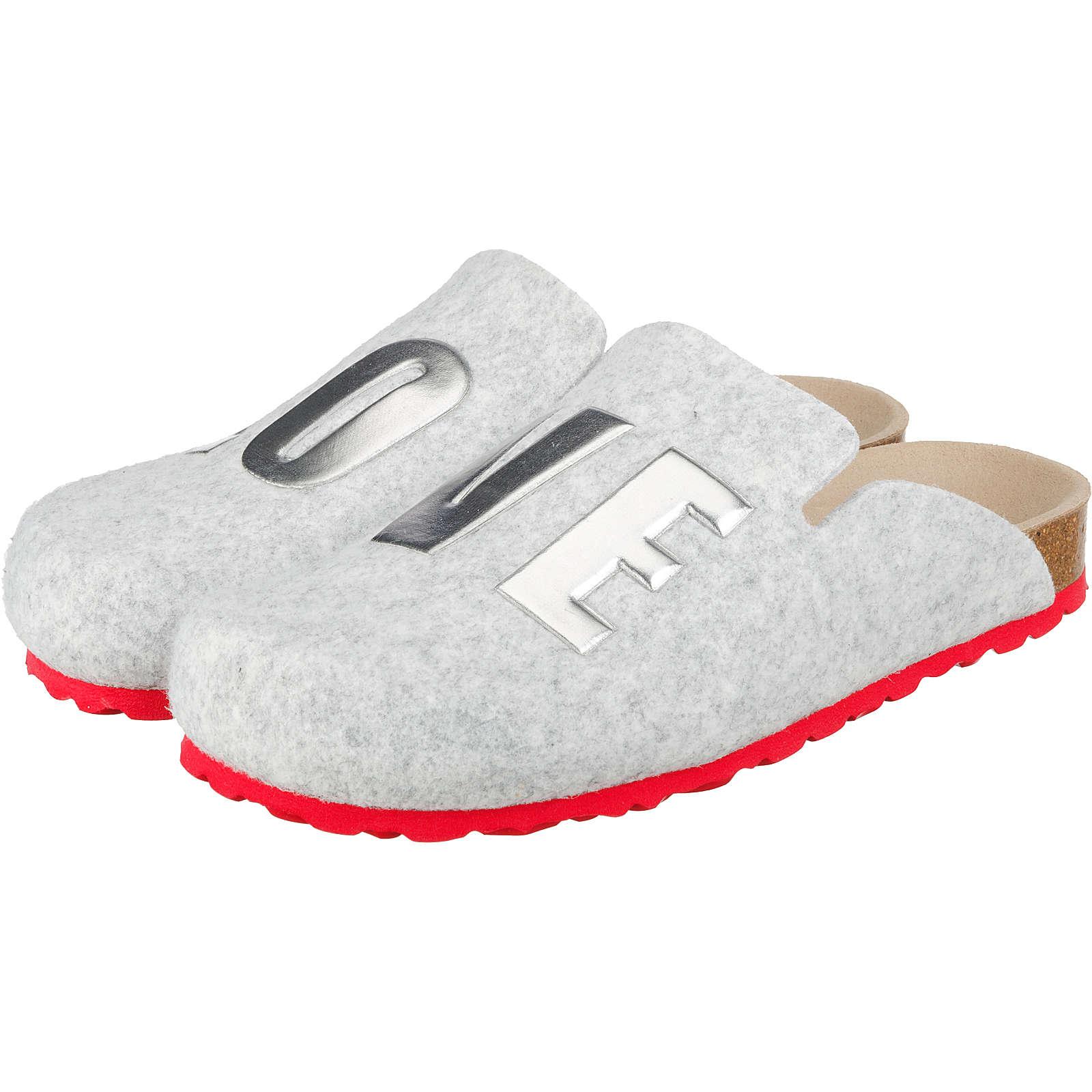 ESPRIT Pantoffeln grau Damen Gr. 39