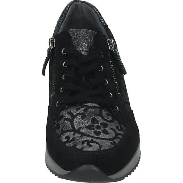 Gabor, Sneakers Gute Low, schwarz  Gute Sneakers Qualität beliebte Schuhe 162ab2