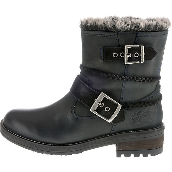 Superdry, Winterstiefeletten, beliebte schwarz  Gute Qualität beliebte Winterstiefeletten, Schuhe 8358e0