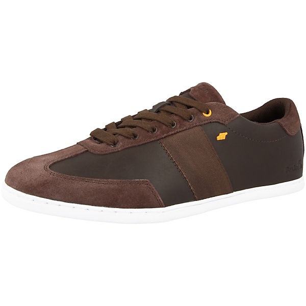 Aceus 5 Fat Low SH Leather Sneakers braun Suede Boxfresh® qdBZ6q