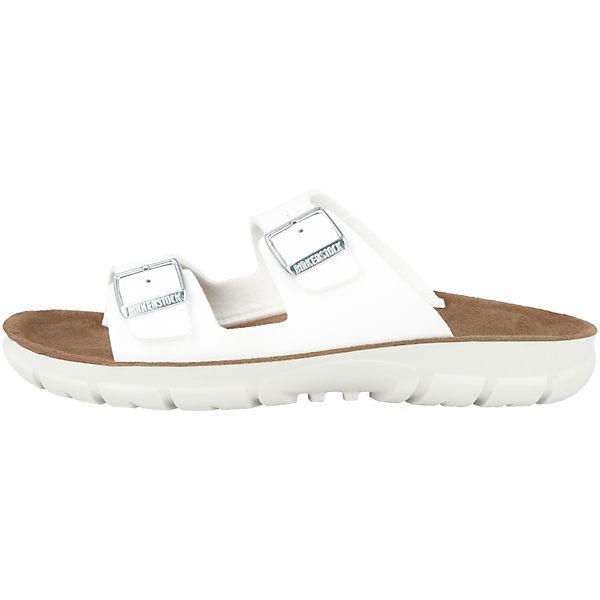 BIRKENSTOCK Bilbao Birko-Flor Weichbettung schmal Komfort-Pantoletten weiß  Gute Qualität beliebte Schuhe