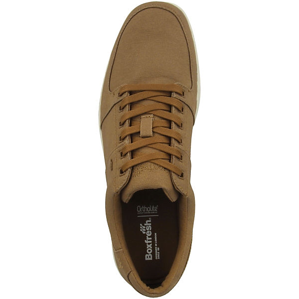 Canvas Sneakers Waxed Hybrid Sports Boxfresh® Low braun Spencer qXInA