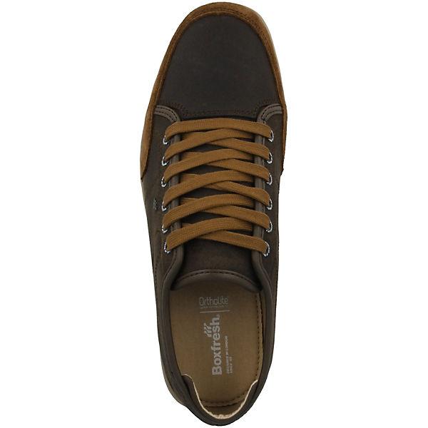 braun Boxfresh® Hybrid Sparko Sneakers Sports Low Leather xxz1Yw4