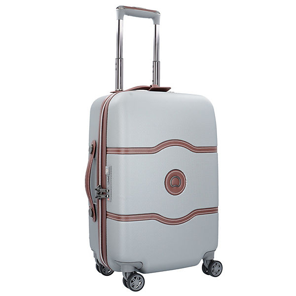 Delsey Trolleys Cm Chatelet Kabinentrolley Air Silber rollen 55 4 dChQtrs