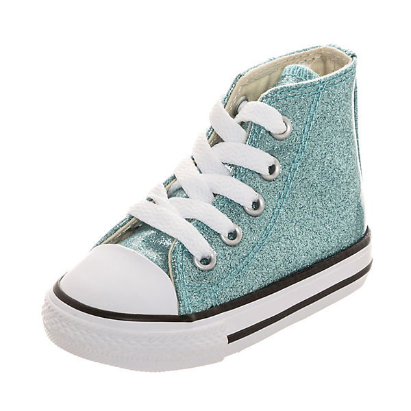Converse Baby Chuck Taylor All Star Glitter Kinder Sneakers High