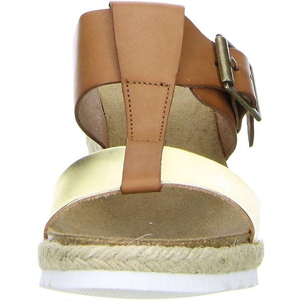 Vista, Qualität Plateau-Pantoletten, braun  Gute Qualität Vista, beliebte Schuhe bca2e9