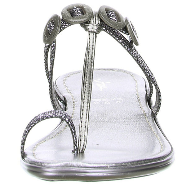 Vista, Zehentrenner, anthrazit Qualität  Gute Qualität anthrazit beliebte Schuhe 32f788