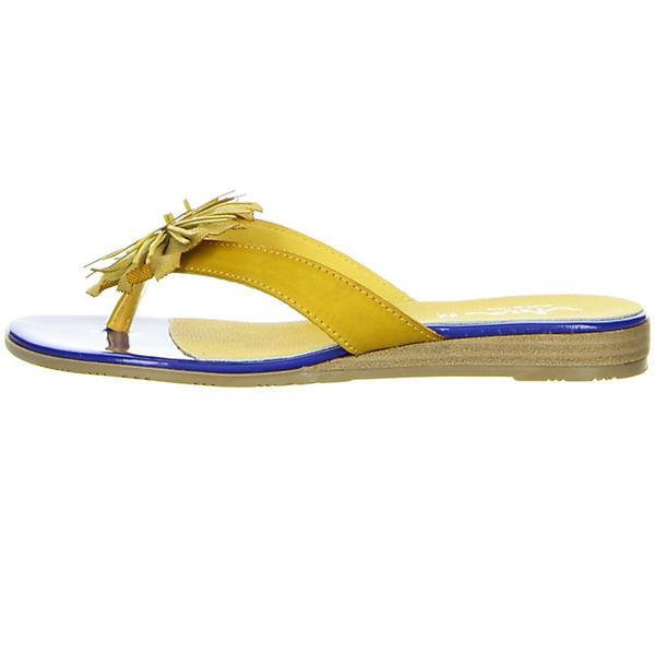 Vista, Zehentrenner, gelb Qualität  Gute Qualität gelb beliebte Schuhe e2f45d