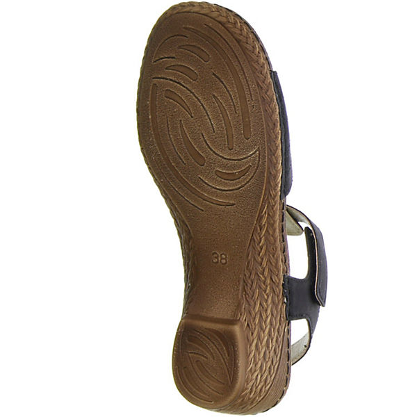 Vista schwarz T Steg Steg Vista T Sandaletten OHOZUrwqW