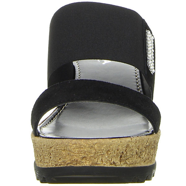 Vista, Plateau-Pantoletten, beliebte schwarz  Gute Qualität beliebte Plateau-Pantoletten, Schuhe 6315b0