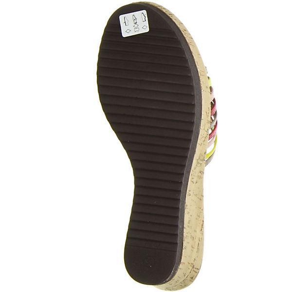 Vista,  Plateau-Pantoletten, mehrfarbig  Vista, Gute Qualität beliebte Schuhe 6007e6